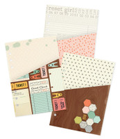 Carpe Diem - The Reset Girl - A5 Doouble Pocket Inserts - Set of 3