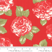 Moda Fabric - Early Bird - Bonnie & Camille - Blooms Red  #55190 11