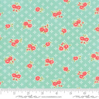 Moda Fabric - Early Bird - Bonnie & Camille - Sweet Aqua #55191 12