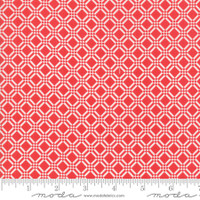 Moda Fabric - Early Bird - Bonnie & Camille - Check Red #55193 11