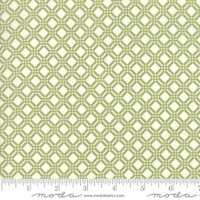 Moda Fabric - Early Bird - Bonnie & Camille - Check Green #55193 16