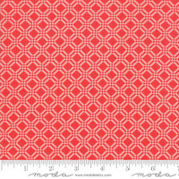 Moda Fabric - Early Bird - Bonnie & Camille - Check Tonal Red #55193 21