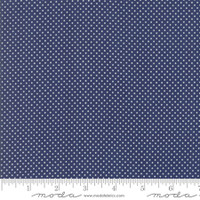 Moda Fabric - Early Bird - Bonnie & Camille - Dots Navy #55195 15