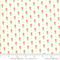 Moda Fabric - Early Bird - Bonnie & Camille - Tulips Cream #55197 17