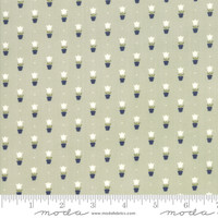 Moda Fabric - Early Bird - Bonnie & Camille - Tulips Gray #55197 14