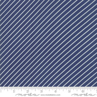 Moda Fabric - Early Bird - Bonnie & Camille - Stripe Navy #55196 15