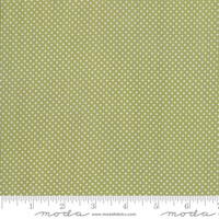 Moda Fabric - Early Bird - Bonnie & Camille - Dots Green #55195 16