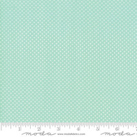 Moda Fabric - Early Bird - Bonnie & Camille - Dots Aqua #55195 12