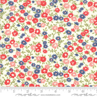 Moda Fabric - Early Bird - Bonnie & Camille - Rosie Cream #55194 17