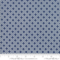 Moda Fabric - Early Bird - Bonnie & Camille - Check Navy #55193 15