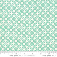 Moda Fabric - Early Bird - Bonnie & Camille - Check Aqua #55193 12