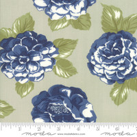 Moda Fabric - Early Bird - Bonnie & Camille - Blooms Gray #55190 14