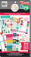 Me and My Big Ideas - The Happy Planner - Value Pack Stickers - Christmas Joy (#979)