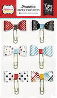 Echo Park Paper Co - Magic and Wonder Collection - Decorative Paper Clip Bows