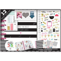 The Happy Planner - Me and My Big Ideas - 12 Month Box Kit - Best Day (Undated, Vertical)