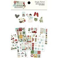 Carpe Diem - Simple Stories - Winter Farmhouse Mini Sticker Tablet