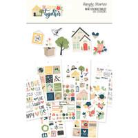 Carpe Diem - Simple Stories - So Happy Together Mini Sticker Tablet