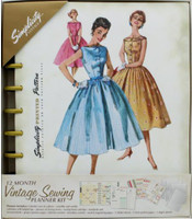 Simplicity Notions - Vintage Sewing Planner Kit (Undated)