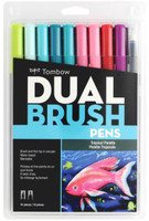 Tombow - Dual Brush Markers - Set of 10 - Tropical