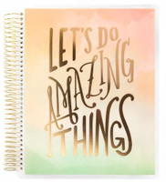 ***IMPERFECT***  Recollections - Creative Year - Amazing Things Medium Goal Planner (Horizontal, Undated)