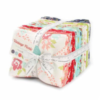 Moda Fabric Precuts Fat Quarter Bundle - Vintage Picnic by Bonnie and Camille