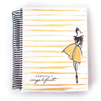 Paper House - Perfectly Imperfect - 18 Month Planner (Undated, Vertical)