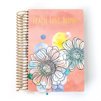 Paper House - Teacher - 12 Month Mini Planner (Undated, Horizontal)
