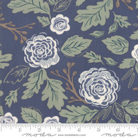 Moda Fabric - Harvest Road - Lella Boutique - Indigo #5100 16