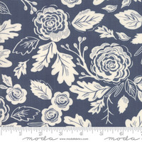 Moda Fabric - Harvest Road - Lella Boutique - Indigo Eggshell #5100 26