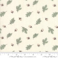 Moda Fabric - Harvest Road - Lella Boutique - Eggshell #5101 12