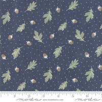 Moda Fabric - Harvest Road - Lella Boutique - Indigo #5101 16