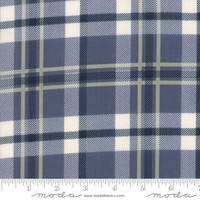 Moda Fabric - Harvest Road - Lella Boutique - Indigo #5102 16