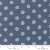 Moda Fabric - Harvest Road - Lella Boutique - Indigo #5103 16