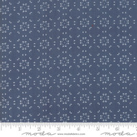 Moda Fabric - Harvest Road - Lella Boutique - Indigo #5104 16