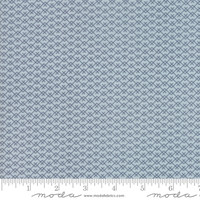 Moda Fabric - Harvest Road - Lella Boutique - Smokey Blue Indigo #5105 15
