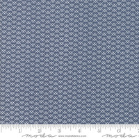 Moda Fabric - Harvest Road - Lella Boutique - Indigo #5105 16
