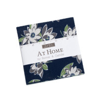 Moda Fabric Precuts Charm Pack - At Home by Bonnie & Camille (Camille)