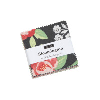 Moda Fabric Precuts - Mini Charm Pack - Bloomington by Lella Boutique