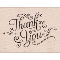 Hero Arts Mounted Rubber Stamp - Thank You Stamp
