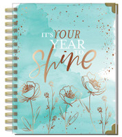 Me and My Big Ideas - 2020 Classic Twin Loop Happy Planner - Year to Shine - 12 Months (Dated, Vertical)