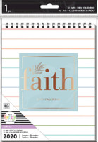 The Happy Planner - Me and My Big Ideas - Spiral Desk Calendar - Faith
