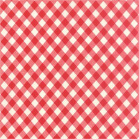 50cm - Moda Fabric - Wide Backing - Vintage Picnic - Bonnie & Camille - Red