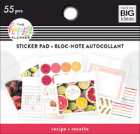 The Happy Planner - Me and My Big Ideas - Tiny Stickers Pad - Recipe