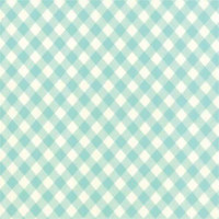 50cm - Moda Fabric - Wide Backing - Vintage Picnic - Bonnie & Camille - Aqua