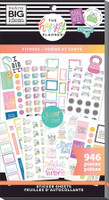 The Happy Planner - Me and My Big Ideas - Value Pack Stickers - Fitness Workout  (#946)