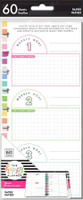 The Happy Planner - Me and My Big Ideas - Classic Refill Note Paper - Half Sheet - Fitness
