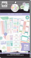 The Happy Planner - Me and My Big Ideas - Value Pack Stickers - Wellness (#736)