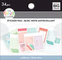 The Happy Planner - Me and My Big Ideas - Tiny Stickers Pad - Wellness