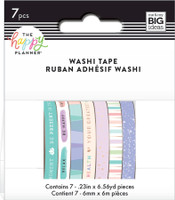 The Happy Planner - Me and My Big Ideas - Washi Tape - Wellness