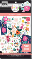 The Happy Planner - Me and My Big Ideas - Value Pack Stickers - Flowers (#372)